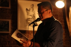 Johnny Cho reading from the first publication of pspoets.