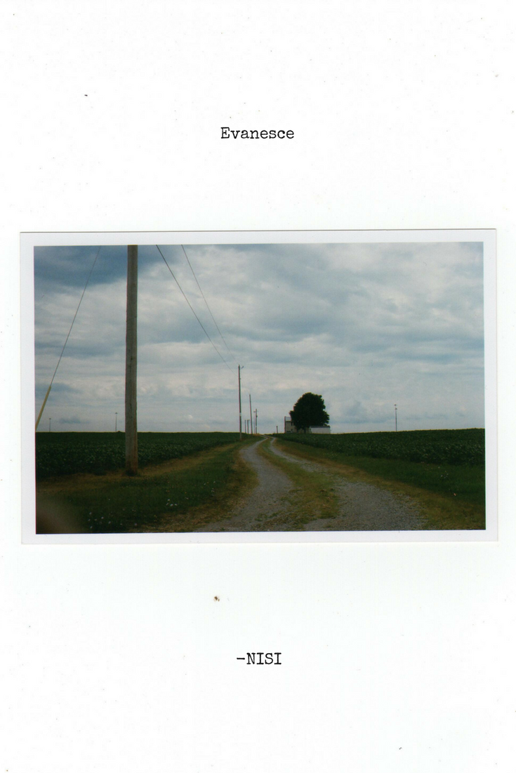 Nisi Poesy | Evanesce | Poem | Photograph of My Childhood Home | 35mm film | Canon AE-1 Program | Poetry | Writing | Travel