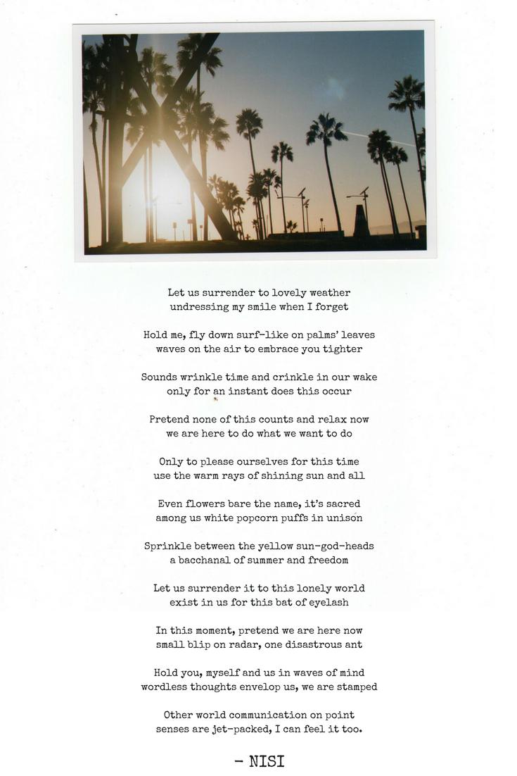 Summer of '16   Nisi Poesy   Venice Beach   Travel Blog