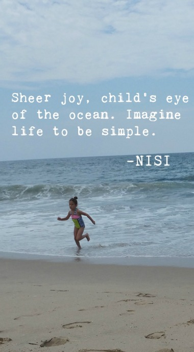 Beach Day with Lil One | Nisi Poesy | Denise Mckenzie | Poets | Haiku Poetry | Creative Writing | Words to Live by | Thoughtful Words